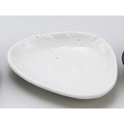 和食器 小皿 おしゃれ/ 白釉三角小皿 /陶器 業務用 家庭用 small plate ポイント消化