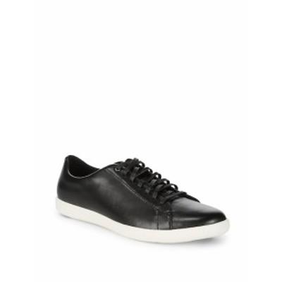 コールハーン メンズ スニーカー Leather Low-Top Sneakers