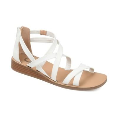 ジャーニーコレクション サンダル シューズ レディース Women's Lanza Sandal White