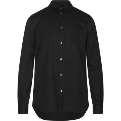 アンダーカバー UNDERCOVER メンズ シャツ トップス solid color shirt Black