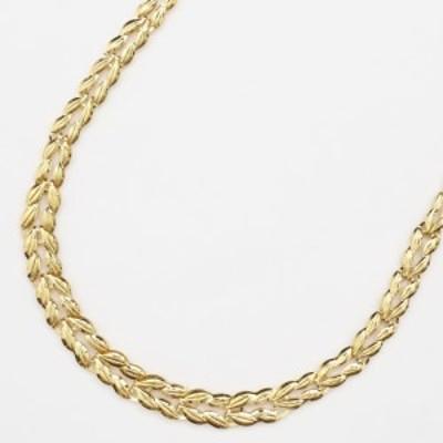 純金 ネックレス (K24) (リバーシブル仕様、ゆったり45cm)