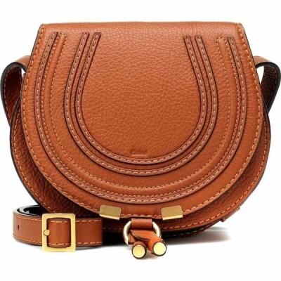 クロエ Chloe レディース ショルダーバッグ バッグ marcie mini leather shoulder bag Tan