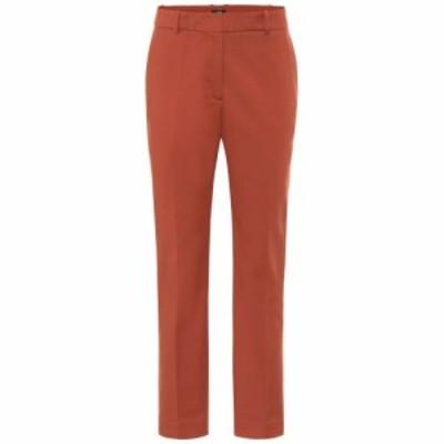 ジョゼフ Joseph レディース ボトムス・パンツ Coleman cotton-blend pants Rust