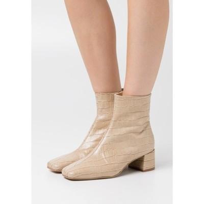 ジン ブーツ&レインブーツ レディース シューズ Classic ankle boots - beige