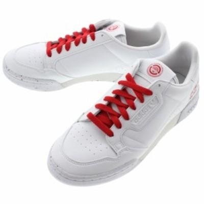 アディダス adidas スニーカー コンチネンタル 80 CONTINENTAL 80 フットウェアホワイト/フットウェアホワイト/スカーレット FU9787