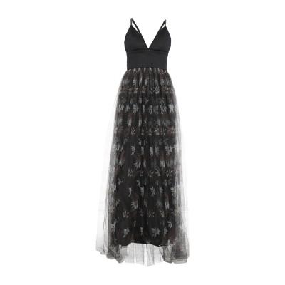 ブルネロ クチネリ BRUNELLO CUCINELLI ロングワンピース&ドレス ブラック M ポリエステル 100% / 真鍮/ブラス / ナイ