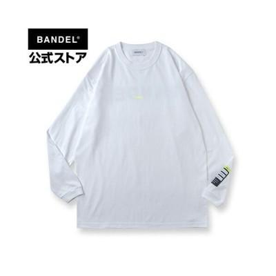 Long Sleeve T Color benefit 【CHILL】white ホワイト ロングTシャツ  長袖 ロング Tシャツ ロンT BANDEL