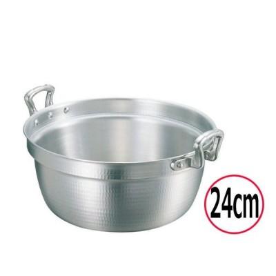 料理鍋 nakao/中尾アルミ製作所 キング アルミ打出料理鍋(目盛付) 24cm