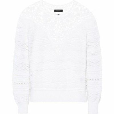 イザベル マラン Isabel Marant レディース ニット・セーター トップス Camden cotton sweater White