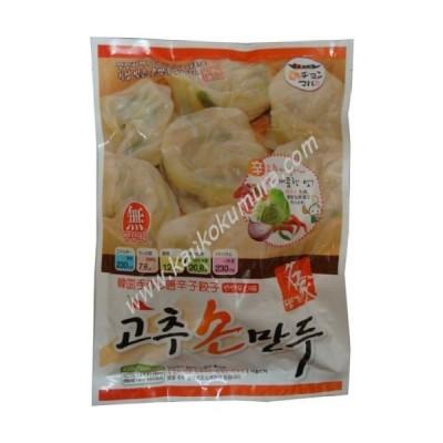 ヂョンマル 名家韓国手作り唐辛子マンドゥ(餃子)(15個入り) 420g