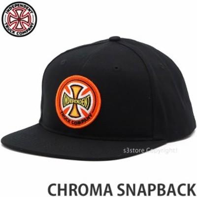 インディペンデント CHROMA SNAPBACK カラー:BLACK サイズ:OS