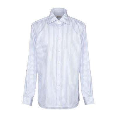 マウロ グリフォーニ MAURO GRIFONI シャツ ライラック 43 コットン 100% シャツ