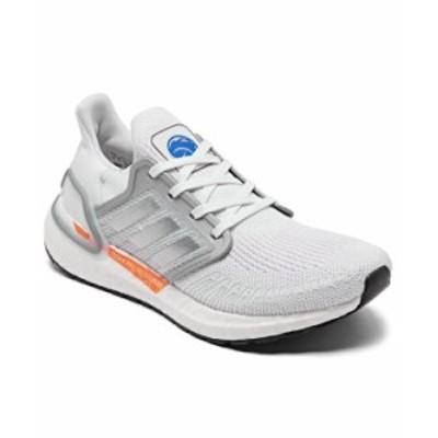 アディダス レディース スニーカー シューズ Women's UltraBOOST 20 Running Sneakers from Finish Line Footwear White Silver