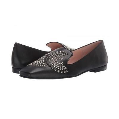 French Sole フレンチソール レディース 女性用 シューズ 靴 ローファー ボートシューズ Elektra - Black Leather