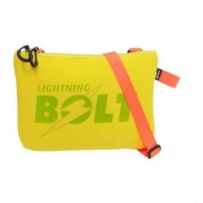 LIGHTNING BOLT サコッシュ イエロー LBD-03(支社倉庫発送品)