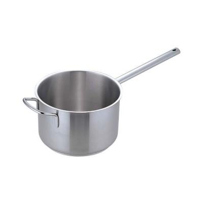 ムラノ インダクション18-8 片手深型鍋 (蓋無)28cm (AKTD105)