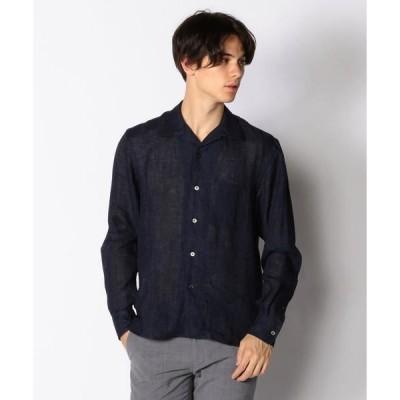 TOMORROWLAND / トゥモローランド リネン オープンカラーシャツ