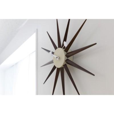 壁掛け時計 ジョージ・ネルソン サンバーストクロック マルチ 51910073