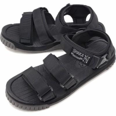【40%OFF】SHAKA シャカ サンダル ネオ バンジー NEO BUNGY メンズ・レディース ストラップ アウトドア 靴 BLACK ブラック系 [SK433104
