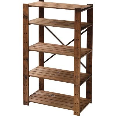 木製ラック5段