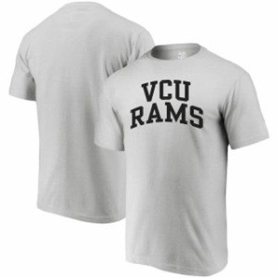 Alta Gracia アルタ グラシア スポーツ用品  Alta Gracia (Fair Trade) VCU Rams Heathered Gray Arched Wordmark T-Shirt