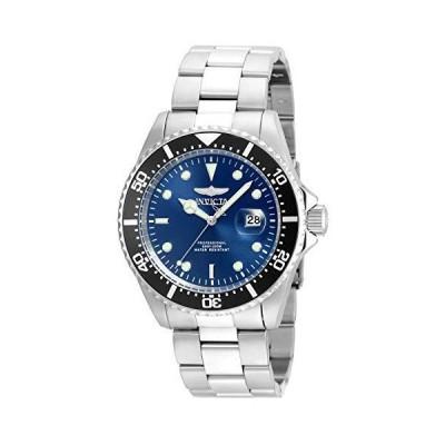 Invicta 22054 Gent's Pro Diver Blue Dial Steel Bracelet Dive Watch(並行輸入品)