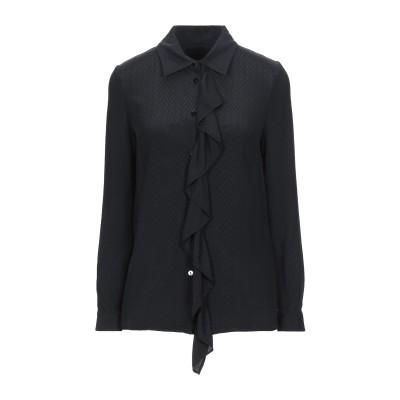 ブルマリン BLUMARINE シャツ ブラック 46 アセテート 71% / シルク 29% シャツ
