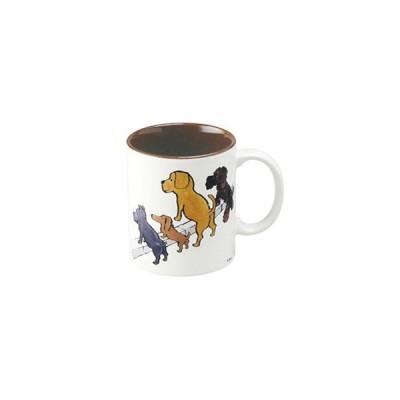 サヴィニャックグッズ・かわいい犬のマグカップ(清潔な街キャンペーン)