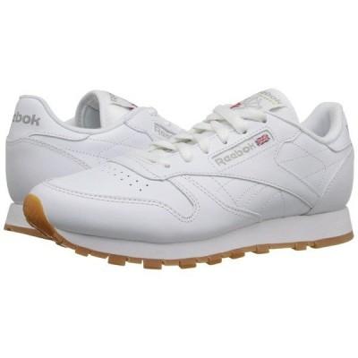 リーボック スニーカー シューズ レディース Classic Leather White/Gum