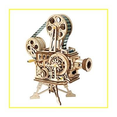新品   ROKR 3D Puzzle-Wooden Model Building Sets-Adult Craft Brain Teaser Educational Engineering Toy Educational Gifts for Children Kids Teen