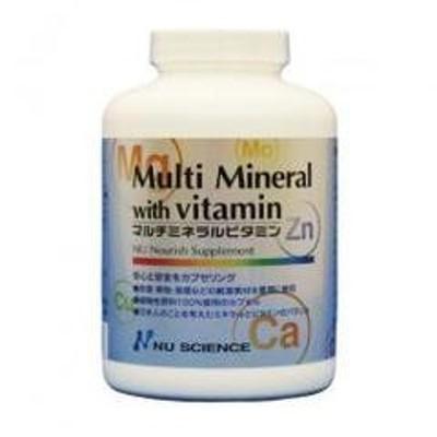 マルチミネラルビタミン ニューサイエンス  不足しがちなミネラル・ビタミンの摂取に