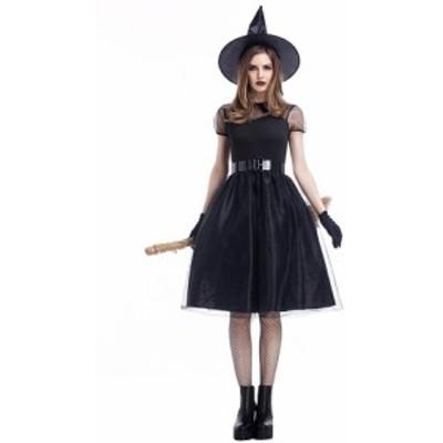 ハロウィン衣装 予約 大きいサイズ M~4L ハロウィン特集 4set 魔女 コスプレ 精霊 Halloween YL-ZML-J1727   送料無料