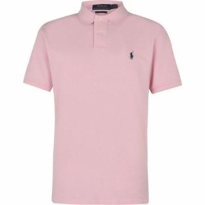 ラルフ ローレン Polo Ralph Lauren メンズ ポロシャツ トップス Custom Slim Fit Polo Garden Pink