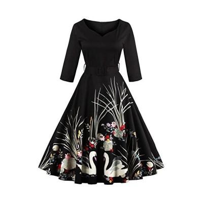 フォーマル 結婚式 花柄ワンピース レディース きれいめ ドレス フォーマルワンピース レディースワンピース