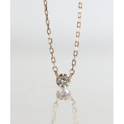 cui-cui / K10YG 一石ヌーディダイヤモンドネックレス WOMEN アクセサリー > ネックレス