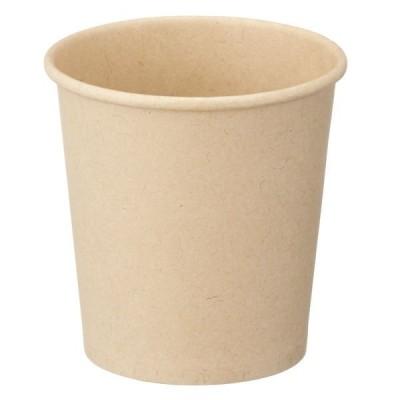 ファーストレイト 紙コップ 未晒しコップ90ml(3オンス) 1袋(100個)
