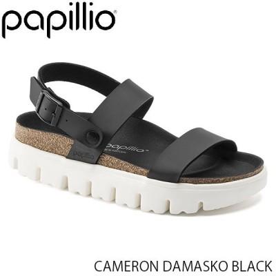 パピリオ Papillio レディース サンダル CAMERON WOMEN DAMASKO BLACK 幅狭 BIRKO-FLOR GL1015910 国内正規品