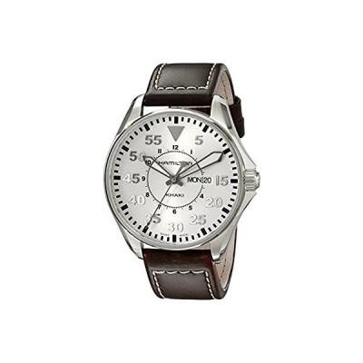 [ハミルトン] 腕時計 Khaki Pilot 42mm H64611555 正規輸入品 ブラウン