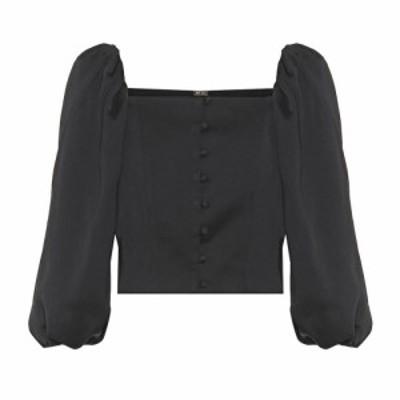カルト ガイア Cult Gaia レディース ブラウス・シャツ トップス petra blouse Black