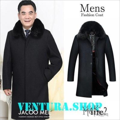 コート メンズ ジャケット 秋冬 コートアウター ウールジャケット 新作 トレンチコート ロング シングルコート 裏起毛 ビジネス