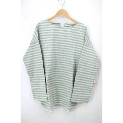 ケイビーエフ KBF BIGBIGボーダーTシャツ レディース ONE SIZE 中古 210203