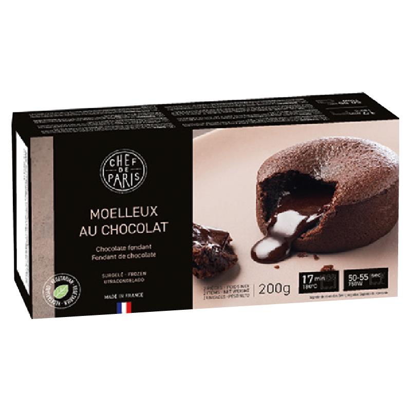 法國Paris冷凍熔岩巧克力蛋糕