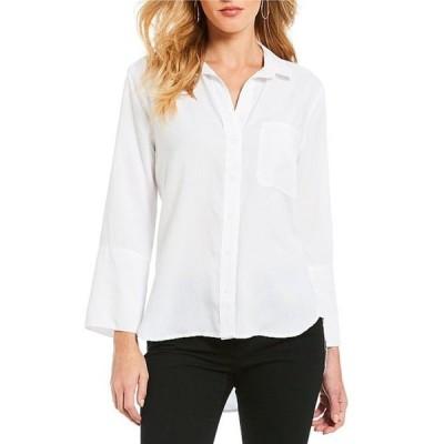 チェルシーアンドバイオレット レディース シャツ トップス Long Sleeve Button-Front Shirt