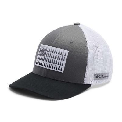 コロンビア Columbia ユニセックス キャップ 帽子 Mesh Tree Flag Ball Cap Titanium/White/Black