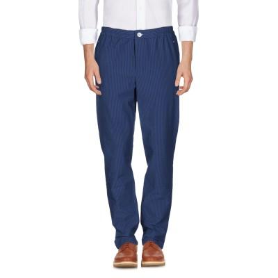BIG UNCLE パンツ ブルー 46 コットン 92% / ポリウレタン 8% パンツ
