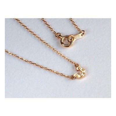【G2MIX】K18 プチ馬蹄 ネックレス オリジナル ゴールド ジュエリー
