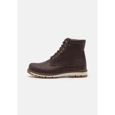 """ティンバーランド ブーツ&レインブーツ メンズ シューズ RADFORD 6"""" PT BOOT WP - Lace-up ankle boots - dark brown"""