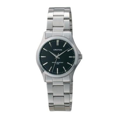 クロトン CROTON 10気圧防水3針クォーツ メンズ腕時計 RT-169M-01 (HY)