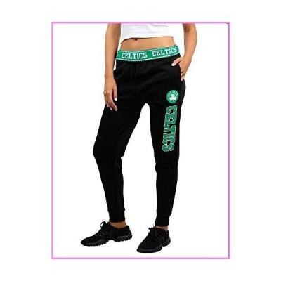 Ultra Game NBA Boston Celtics Womens Jogger Pants Active Basic Fleece Sweatpants , Black, Medium【並行輸入品】