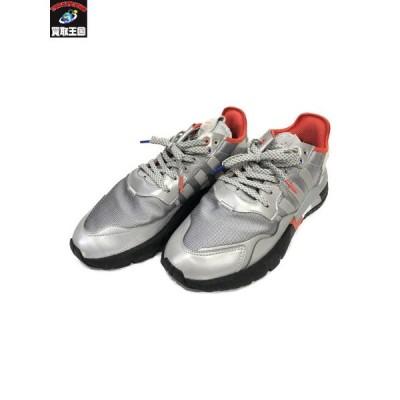adidas NITE JOGGER 28.0 アディダス シルバー